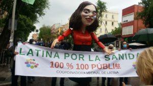 Madrid: Concentración en el distrito de Latina en defensa de la sanidad pública