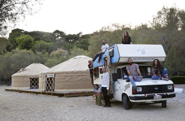 """Interaktive Dokumentation aus Griechenland: ζω… Ich lebe! Athen – ein Treffen mit """"Project Caravan"""""""
