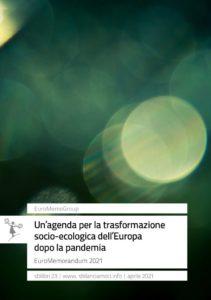 Online il nuovo Rapporto EuroMemorandum 2021