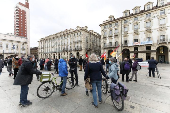 Manifestazione de La Società della Cura a Torino