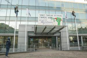 Bruxelles : Non aux «smart farms» déconnectées de la Terre