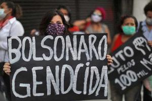 Brasil: asesinato en masa. #ForaBolsonaro