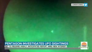 Ufo, le nuove dichiarazioni del Pentagono