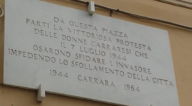 Un sabato a Carrara ai tempi del Covid