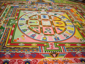 Mandala as a symbol of the self, spirituality and wholeness