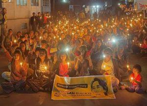 Protestkampagne: Verantwortung zum Schutz Myanmars