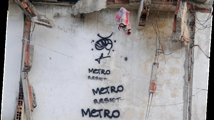Remoções e resistências na favela Metrô Mangueira