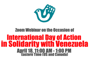 International Day of Action in Solidarity with Venezuela