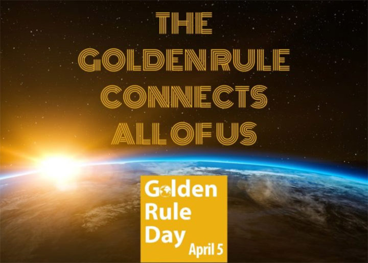 Internationaler Tag der Goldenen Regel: eine weltweite, virtuelle Feier