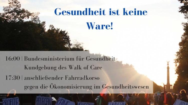 Weltgesundheitstag: Protest gegen bundesweite Klinikschließungen