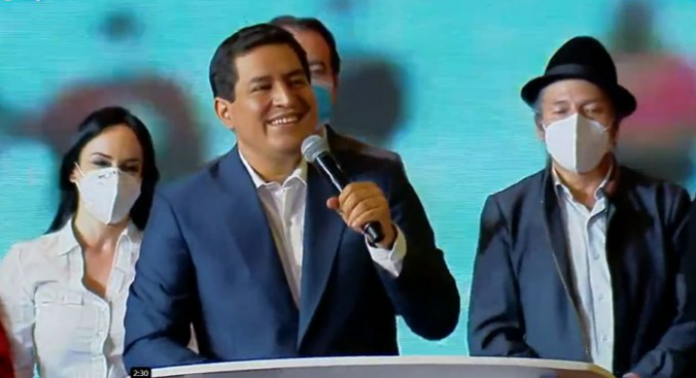 """Andrés Arauz: """"La persecución política debe terminar. Debemos tratarnos como adversarios y no como enemigos"""""""
