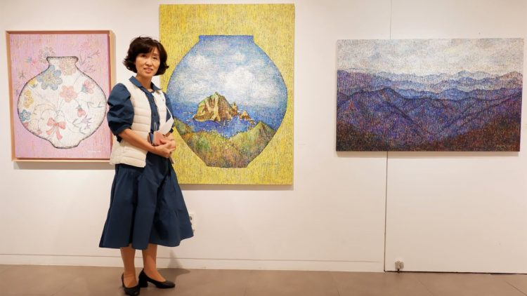 Embroidery Painting on Canvas: exploring Byun, Hae Jung's solo exhibition in South Korea