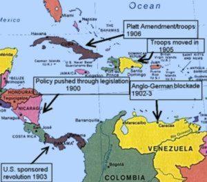 Die Beziehung der USA zu Lateinamerika: Eine Zeitreise
