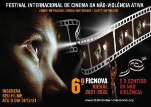 Festival Internacional de Cinema da Não-Violência abre inscrições a partir de amanhã 21 de abril