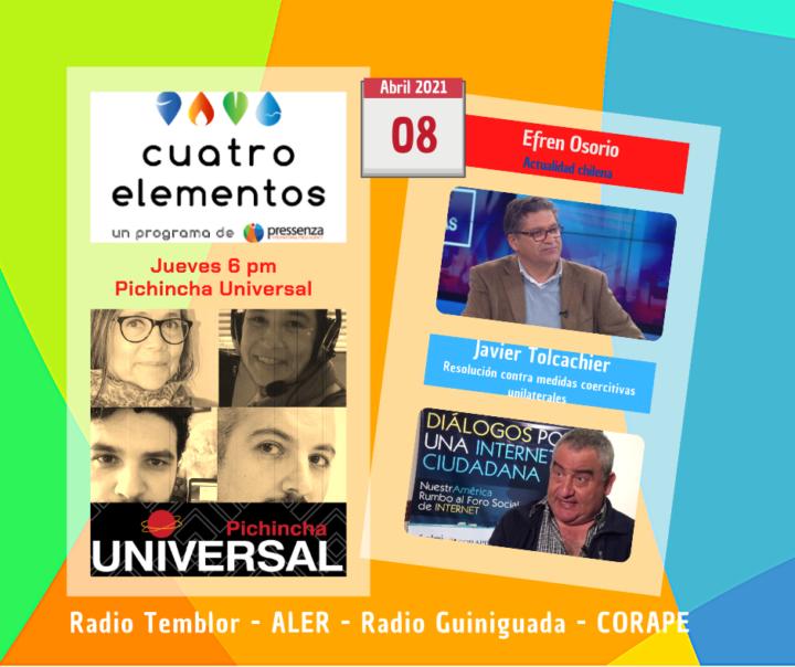 Cuatro Elementos del 08/04/2021 Medidas Coercitivas Unilaterales y actualidad chilena