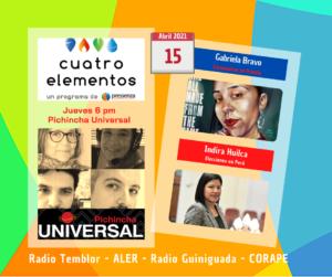 Cuatro Elementos 15/04/2021 Elecciones en Perú y coronavirus en Francia