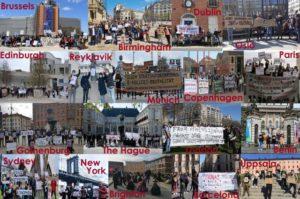 17-18 Απριλίου: μετανάστριες και μετανάστες από Ελλάδα, ένωσαν τις φωνές τους σε πάνω από 20 πόλεις του κόσμου