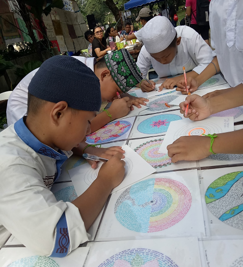 Mandala making: Lived experiences and reflections of my peace friends