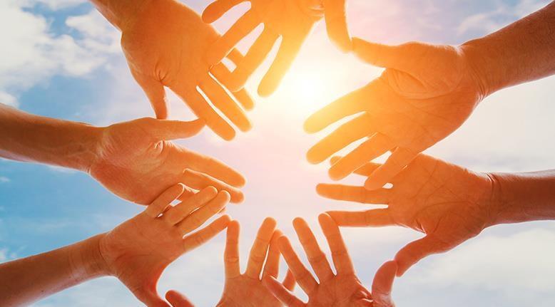 Manos unidas - el bien común