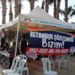 Mersin Kadın Platformu her hafta İstanbul Sözleşmesi için nöbette