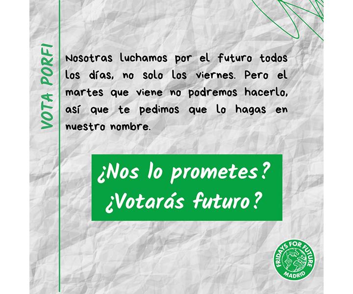 #PrometoVotarFuturo