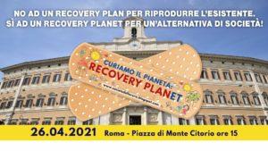 La Società della Cura in Presidio il 26 aprile a piazza di Monte Citorio