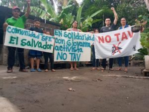Val di Susa: fili di solidarietà internazionale