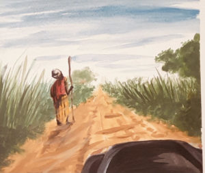 O homem do caminho