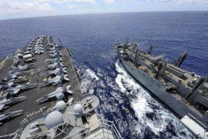 Grupo de ataque de porta-aviões dos EUA retorna ao disputado Mar da China Meridional