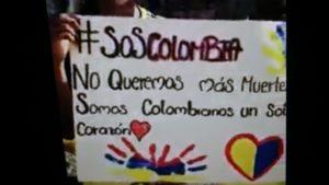 #SOSColombia: ¡Policía, no me mate, por favor no me dispare…!