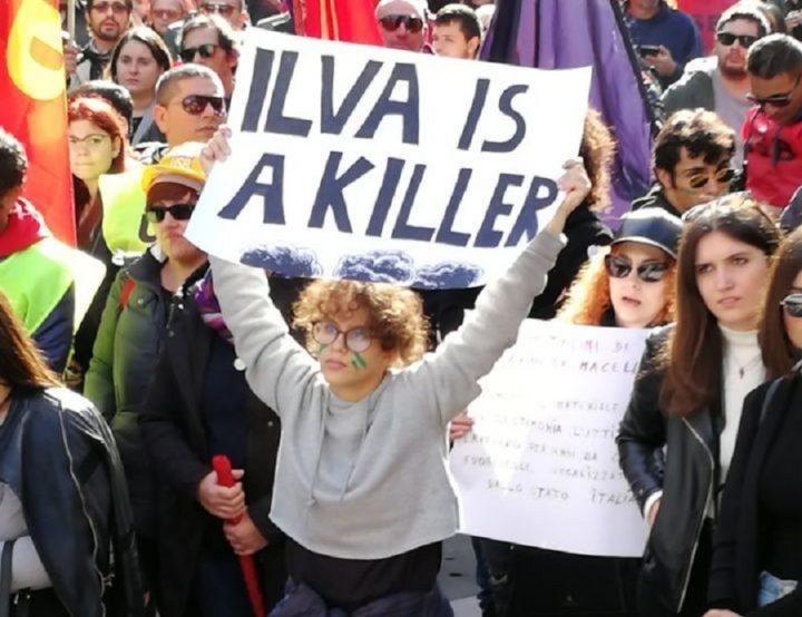 manifestazione studenti a Taranto, fonte: PeaceLink