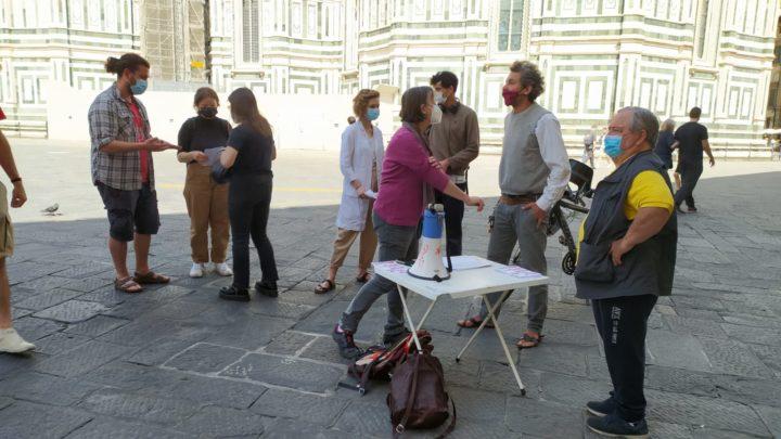 29 maggio Firenze banchino