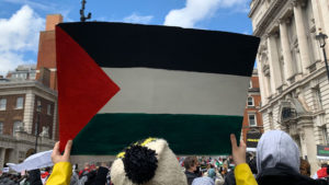 Pictures from the Palestinian support demonstration in London