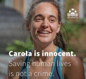Sea-Watch 3: Ermittlungen gegen Carola Rackete eingestellt