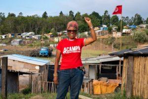 I Reconocimiento Internacional Acampa a la defensa de los DDHH al Movimiento MST de Brasil y el activista Nicanor Acosta