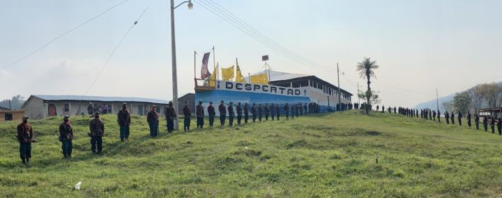 EZLN geht auf große Überfahrt