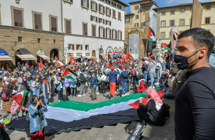 "Firenze grida ""Palestina Libera!"""