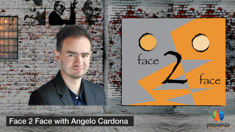 Face 2 Face with Angelo Cardona