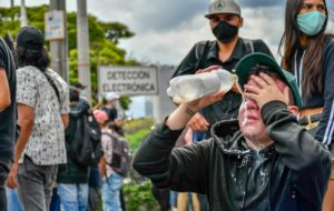 Evo Morales condemns repression against mobilizations in Colombia