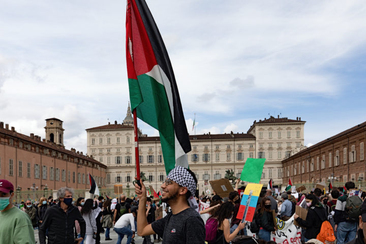 Manifestazione Palestina 11