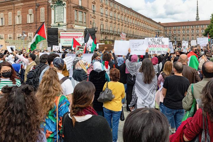 Manifestazione Palestina 13