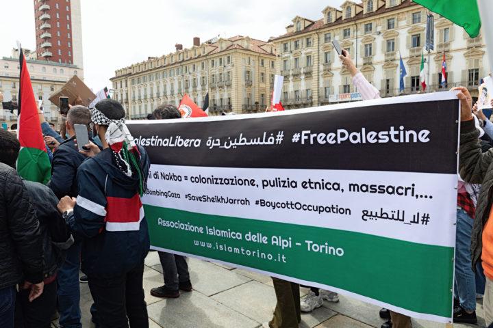 Manifestazione Palestina 14