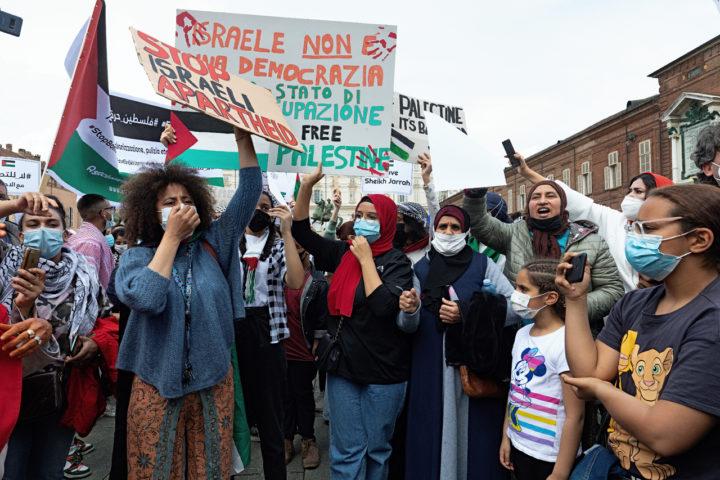 Manifestazione Palestina 15