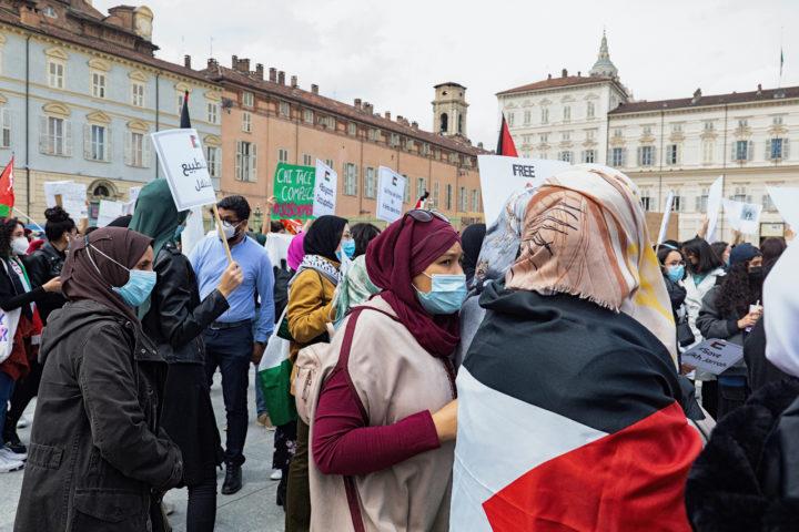 Manifestazione Palestina 16