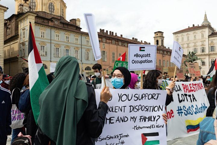 Manifestazione Palestina 17