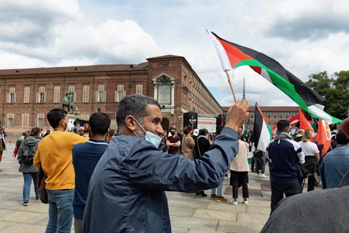 Manifestazione Palestina 21