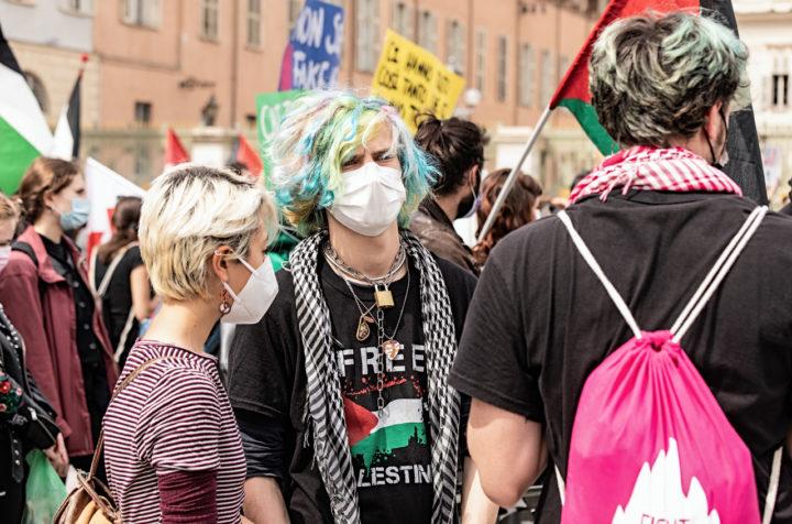 Manifestazione Palestina 22