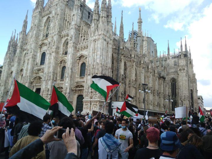 Milano per la Palestina. Protagonisti i giovani