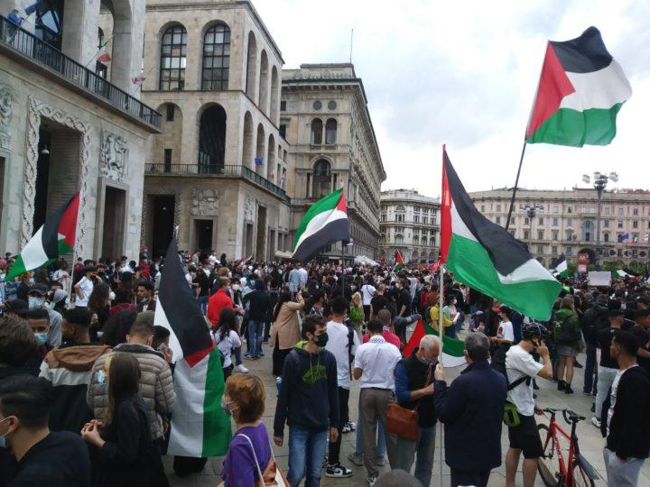 Tutte le manifestazioni a favore della Palestina e della pace