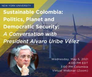 Students, professors, researchers, human rights activists, graduates, Colombian citizens, and foreigners oppose the visit of former President Álvaro Uribe to New York University – NYU.